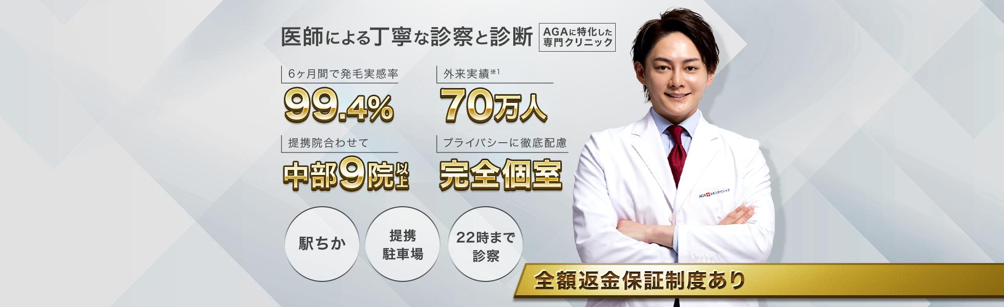 AGAスキンクリニック 名駅錦通院【名古屋院・名古屋栄院】