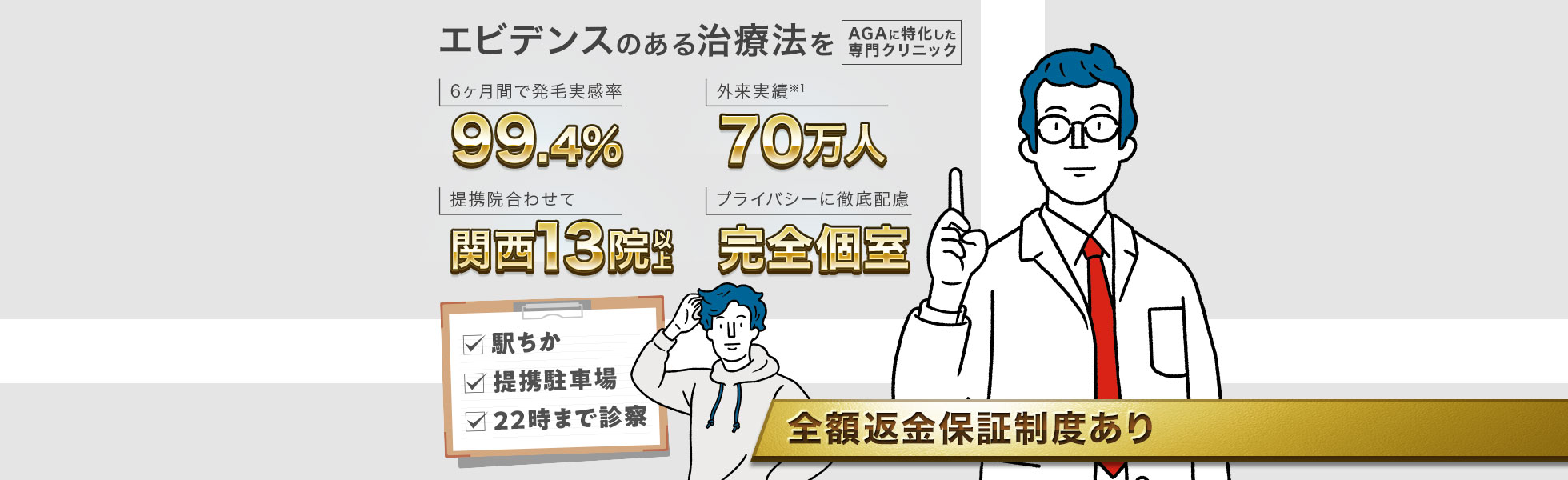 1、AGAスキンクリニック【高校生や10代にもおすすめ!】